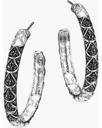 John Hardy - 'naga - Lava' Hoop Earrings - Lyst
