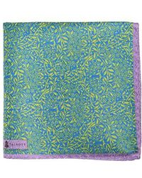 Robert Talbott - Floral Silk Pocket Square - Lyst