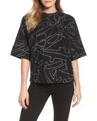 Kenneth Cole - Embroidered Top - Lyst
