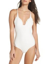 Made By Dawn | Racerback One-piece Swimsuit | Lyst