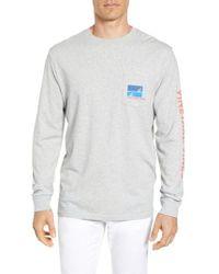 Vineyard Vines - Sailing Blue Regular Fit Crewneck T-shirt - Lyst
