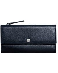 Shinola - Leather Continental Wallet - Lyst