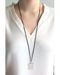 Monica Rich Kosann - Owl Vesta Locket Necklace - Lyst