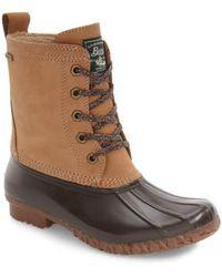 G.H.BASS - Daisy Waterproof Duck Boot - Lyst