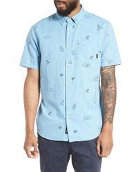 Vans - Houser Woven Shirt - Lyst