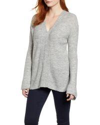 Caslon - Caslon V-neck Sweater - Lyst