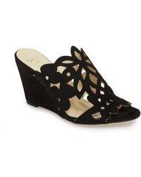 Butter Shoes - Butter Quinn Wedge Slide Sandal - Lyst