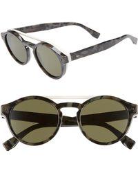 aa4a94876b0f3 Lyst - Fendi Sunglasses Black 003 vk 53-22-135 in Black for Men