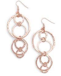 Karine Sultan - Drop Earrings - Lyst