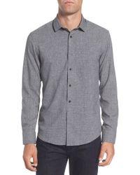 Vince Camuto - Trim Fit Performance Knit Sport Shirt - Lyst