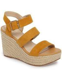 BC Footwear Board Short Wedge Platform Sandal uUwk57