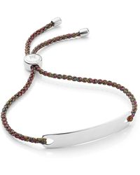 Monica Vinader - Engravable Havana Friendship Bracelet - Lyst