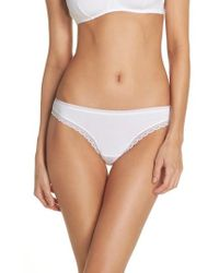 On Gossamer - Cabana Cotton Blend Bikini - Lyst
