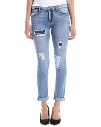 Kut From The Kloth - Catherine Ripped Boyfriend Jeans - Lyst