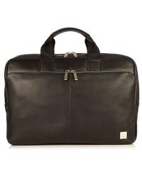 Knomo - Brompton Newberry Leather Briefcase - Lyst
