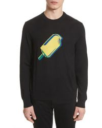PS by Paul Smith - Paul Smith Popsicle Merino Wool Sweater - Lyst