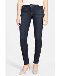Wit & Wisdom - Super Smooth Stretch Denim Skinny Jeans - Lyst