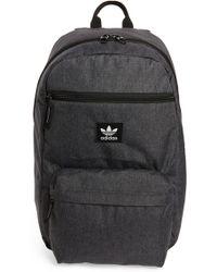 f056613fe853 Lyst - Adidas Originals National Plus Backpack in Black