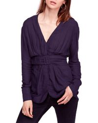 Free People - Back In The Spotlight Shirt - Lyst