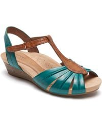 Cobb Hill - Hollywood Pleat Wedge Sandal - Lyst