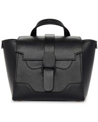 Senreve - Mini Maestra Leather Satchel - Lyst