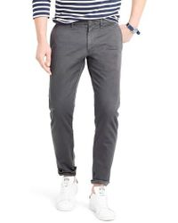 J.Crew | J.crew 484 Slim Fit Stretch Chino Trousers | Lyst