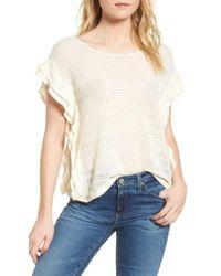 Ella Moss - Crochet Pullover Top - Lyst