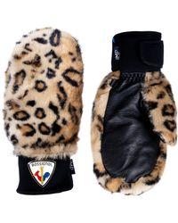 Rossignol - Yurock Eco Faux Fur Mittens - Lyst
