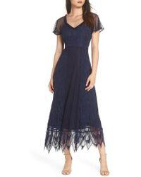 Foxiedox - Gloria Lace Midi Dress - Lyst