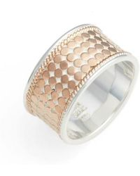 Anna Beck - Vermeil Cigar Band Ring - Lyst