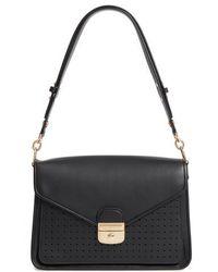 Longchamp - Mademoiselle Calfskin Leather Shoulder Bag - - Lyst