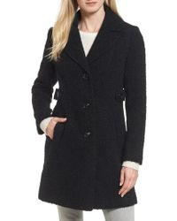 Gallery - Boucle Coat - Lyst