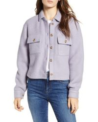 Love, Fire - Textured Utility Jacket - Lyst