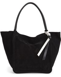 Proenza Schouler - Large Suede Tote - - Lyst