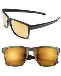 Oakley - Silver Xl 57mm Sunglasses - Lyst