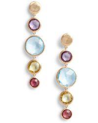 Marco Bicego - Jaipur Semiprecious Stone Drop Earrings - Lyst