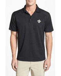 Cutter & Buck - 'New Orleans Saints - Genre' Drytec Moisture Wicking Polo - Lyst