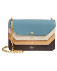 Mulberry | Multiflap Calfskin Leather Clutch | Lyst