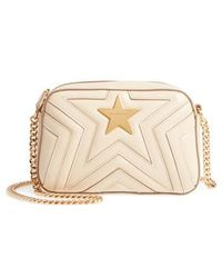 Stella McCartney | Mini Star Quilted Faux Leather Camera Bag | Lyst