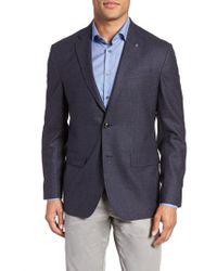 Ted Baker - Konan Trim Fit Microcheck Wool Sport Coat - Lyst