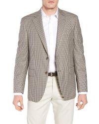 Peter Millar - Classic Fit Check Wool Sport Coat - Lyst