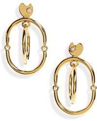 Lizzie Fortunato - Galaxy Drop Earrings - Lyst