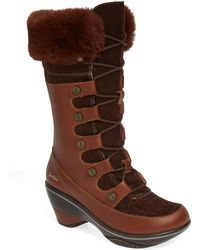 Jambu - Cruiser Faux Fur Trim Boot - Lyst
