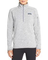 Patagonia | 'better Sweater' Zip Pullover | Lyst