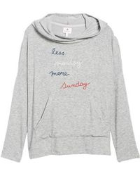 Sundry - Less Monday More Sunday Hoodie - Lyst