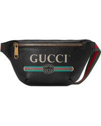 421e2f9dc Lyst - Gucci Gg Leather Clutch in Black