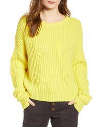 Pam & Gela - High/low Sweater - Lyst