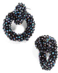 BaubleBar - Emina Hoop Earrings - Lyst
