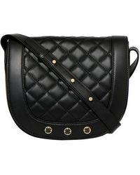 Freida Rothman - Bleeker Quilted Leather Messenger Bag - Lyst