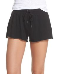 David Lerner - French Terry Sleep Shorts - Lyst